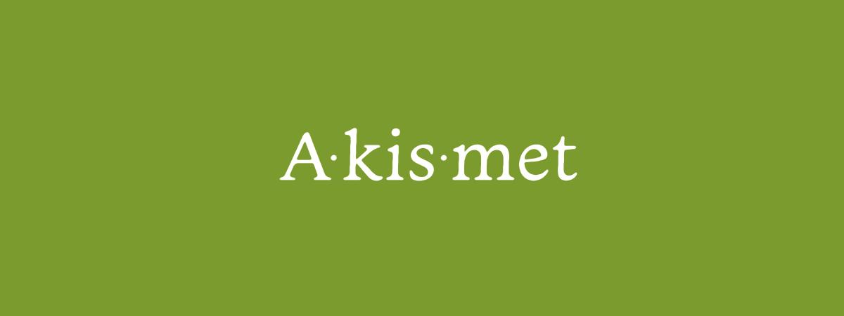 Akismet のロゴのイメージ