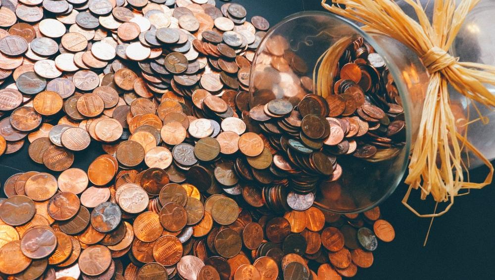 沢山の貨幣