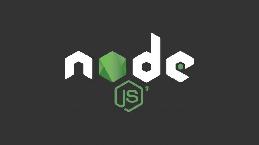 node.js のロゴ。