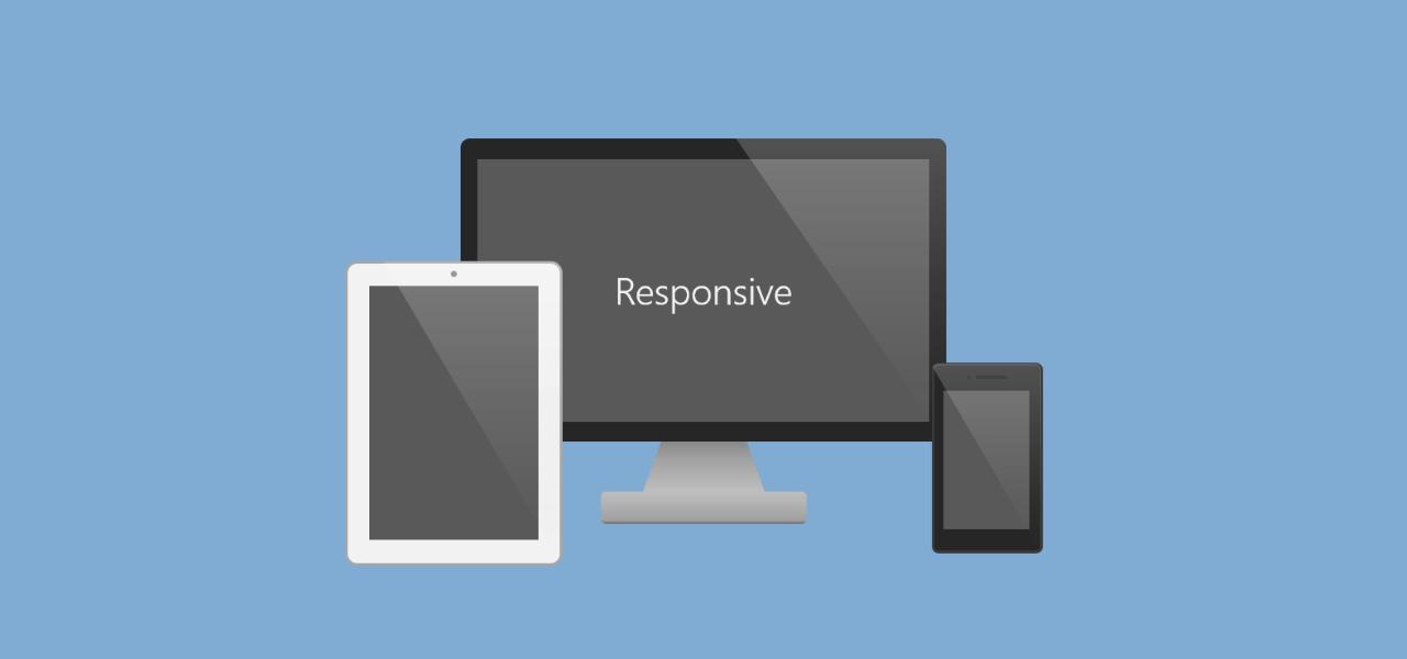 レスポンシブデザインのイメージ