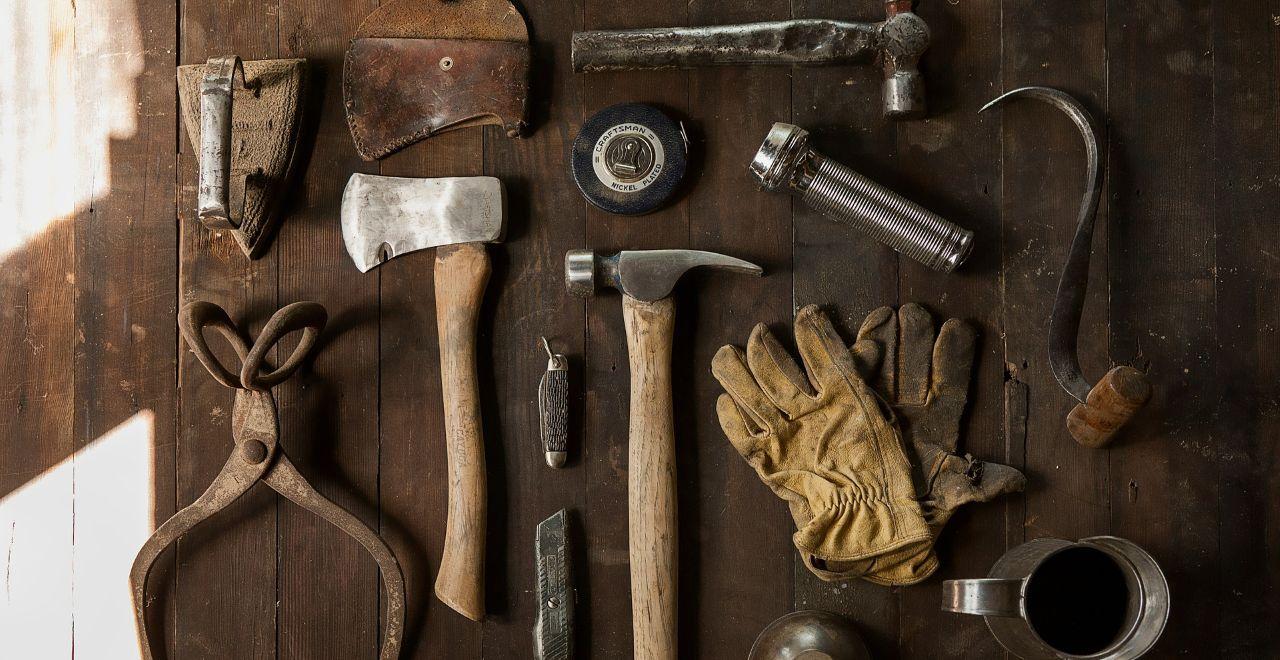 沢山のツールのイメージ